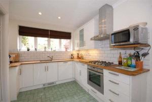 Inspirasi Desain Dapur Minimalis 3x3 Putih